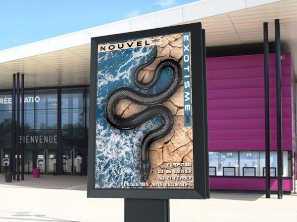 Affiche Exposition Exotisme1