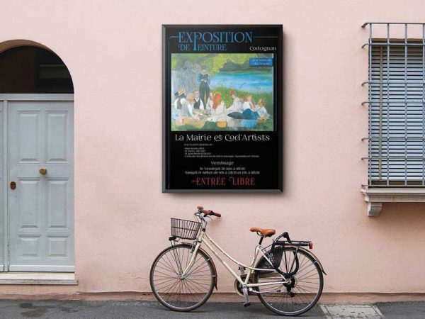 Affiche Exposition Peinture-1